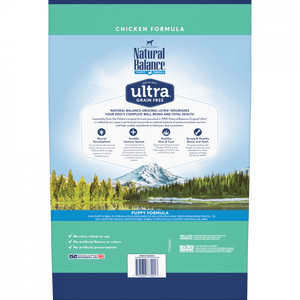 Natural Balance Original Ultra Grain Free Puppy Recipe with Chicken Dry Dog Food