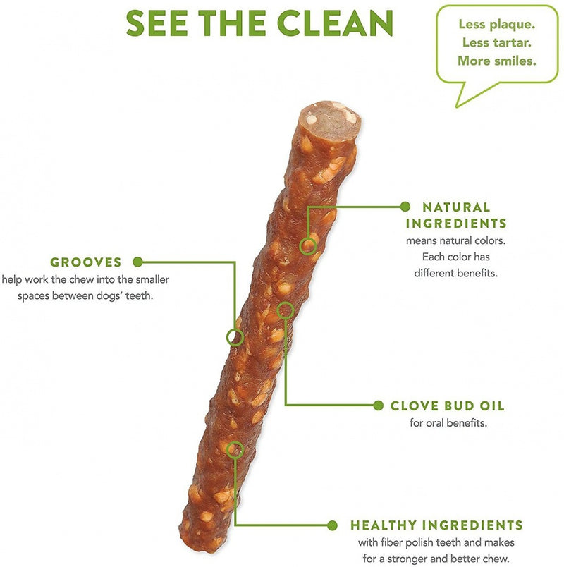 Whimzees Veggie Sausage Dental Chew Dog Treats