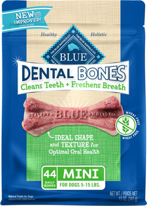 Blue Buffalo Dental Bones Mini Dog Treats