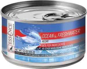 Essence Grain Free Ocean & Freshwater Recipe Canned Cat Food