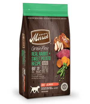 Merrick Grain Free Rabbit & Sweet Potato Recipe Dry Dog Food