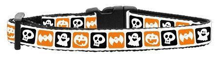 Classic Halloween Nylon Ribbon Collar Cat Safety