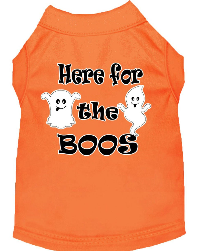 Here for the Boos Screen Print Dog Shirts