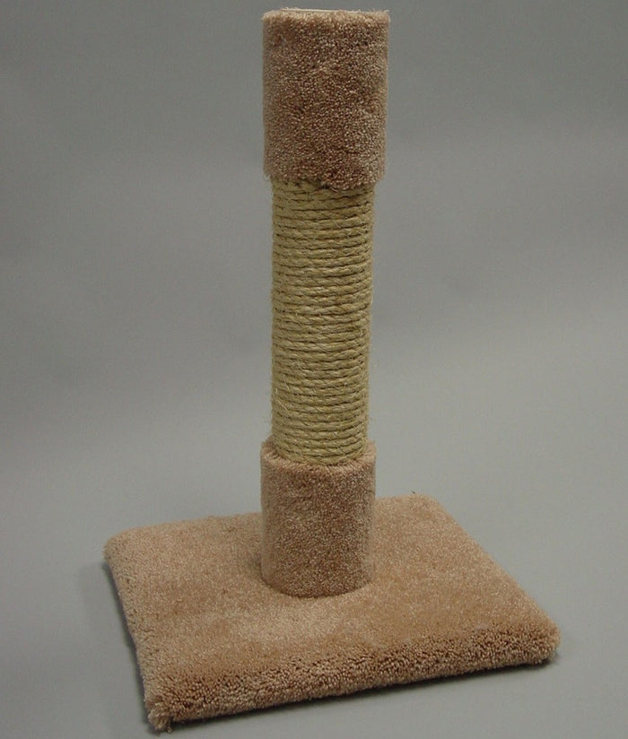 Classy Kitty Sisal Decorator Cat Scratching Post 26in