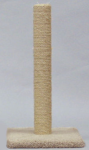 Classy Kitty All Sisal Cat Scratcher Post 32in