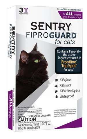 Sentry Fiproguard Plus for Cats