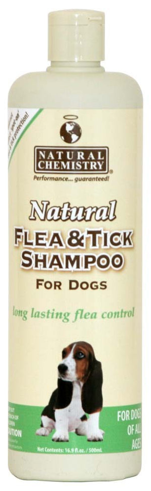 Natural Chemistry Flea & Tick Shampoo For Dogs