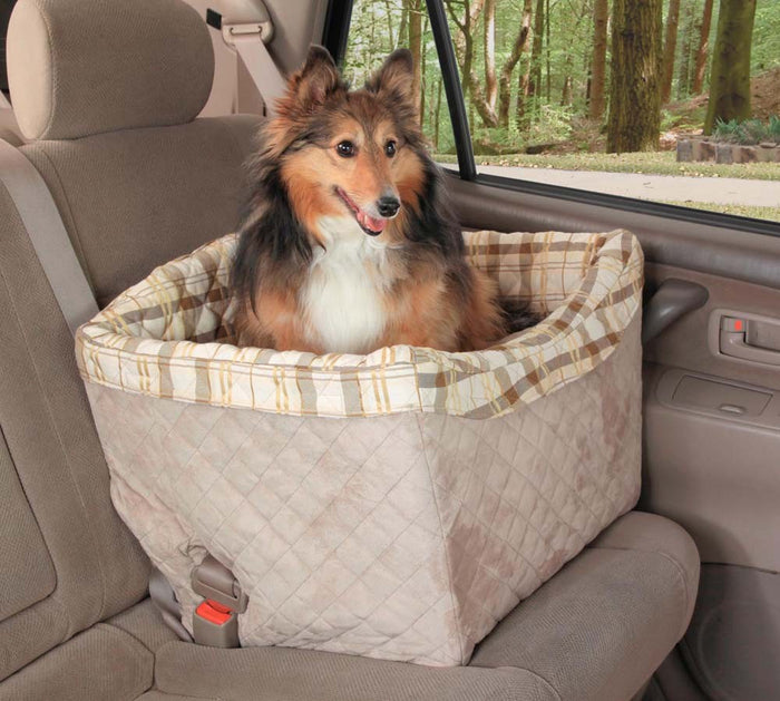 Solvit Products Happy Ride Quilted Dog Safety Seat