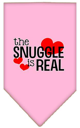 The Snuggle is Real Screen Print Bandana