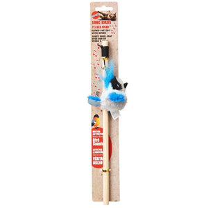 Ethical Pets Spot Songbird Cat Teaser Wand, Assorted