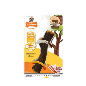 Nylabone Strong Chew Real Wood Stick