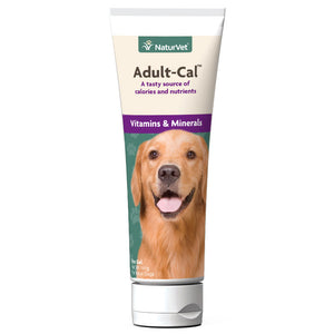NaturVet AdultCal Nutritional Gel Plus Vitamins and Minerals for Dogs