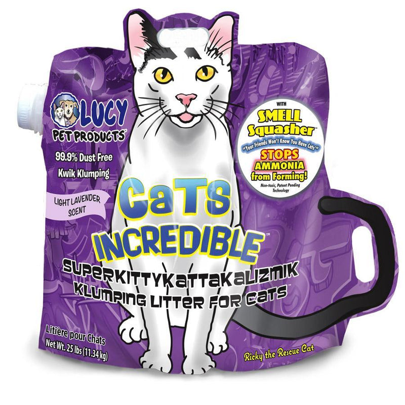 Lucy Pet Cats Incredible Litter Lavender Scented