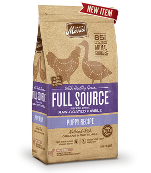 Full Source with Healthy Grains Raw-Coated Kibble Puppy Food