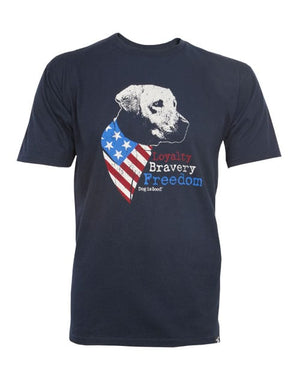 T-shirt: Freedom Dog