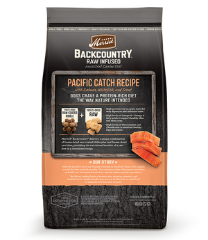 Merrick Backcountry Pacific Catch Raw Infused Dog Food