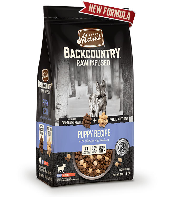 Merrick Backcountry Raw Infused Puppy Food