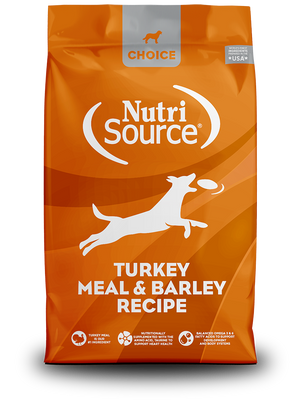 Nutrisource Choice Turkey Meal and Barley Dog Food