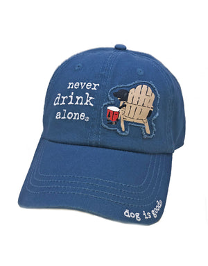 Hat: Never Drink Alone