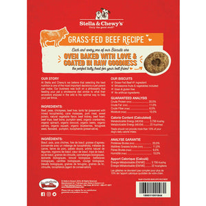 Stella & Chewy's Raw Coated Beef Biscuits for Dogs