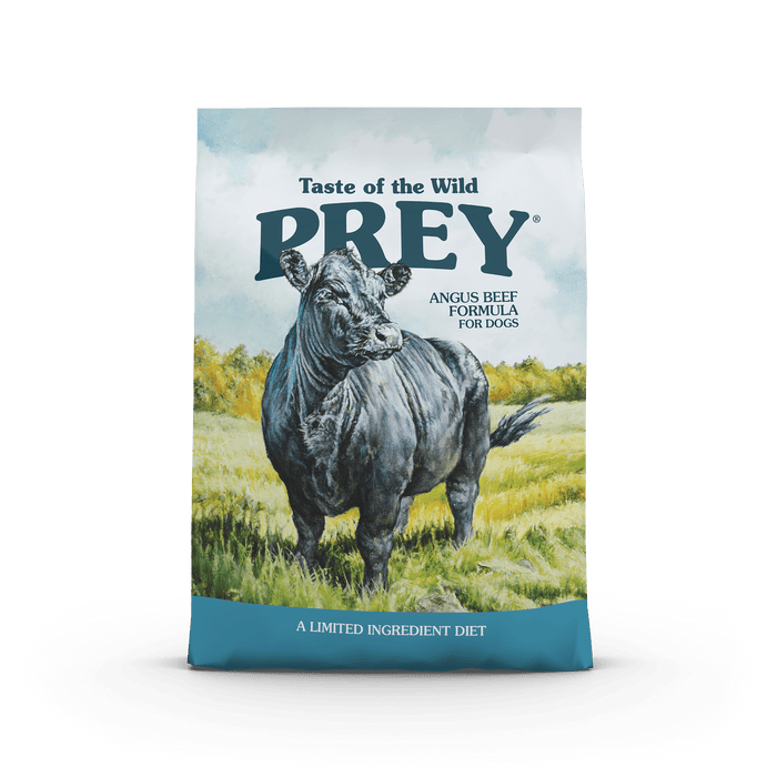 Taste of the Wild Prey Angus Beef Dog Food
