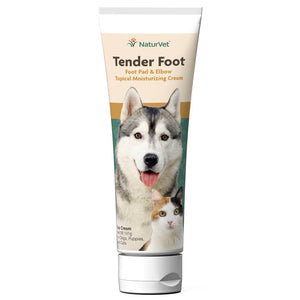 NaturVet Tender Foot, Foot Pad and Elbow Topical Cream, 5 oz