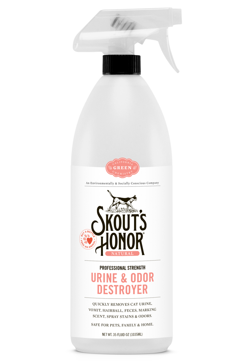 Skout's Honor Cat Urine & Odor Destroyer- 35oz