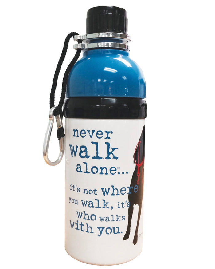 Dog Water Bottle  - Never Walk Alone