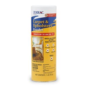 Zodiac Flea & Tick Carpet Powder