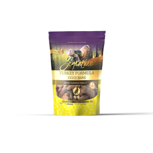 Zignature Ziggy Bars Turkey Dog Treats