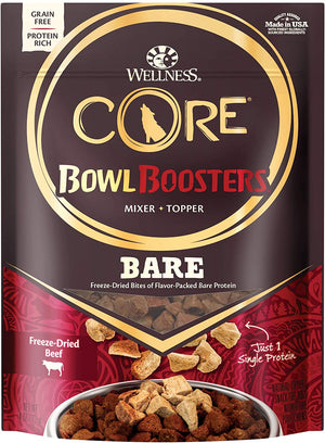 Wellness Core Bowl Boosters Grain Free Pure 100% Beef Dog Topper