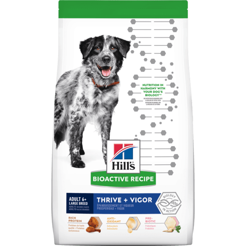 Hill's Bioactive Recipe Adult 6+ Large Breed Chicken & Brown Rice Dry Dog Food