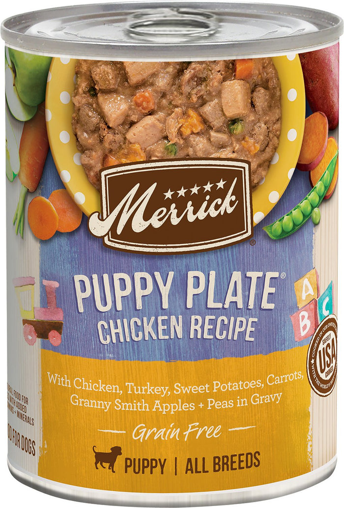 Merrick Puppy Plate Chicken