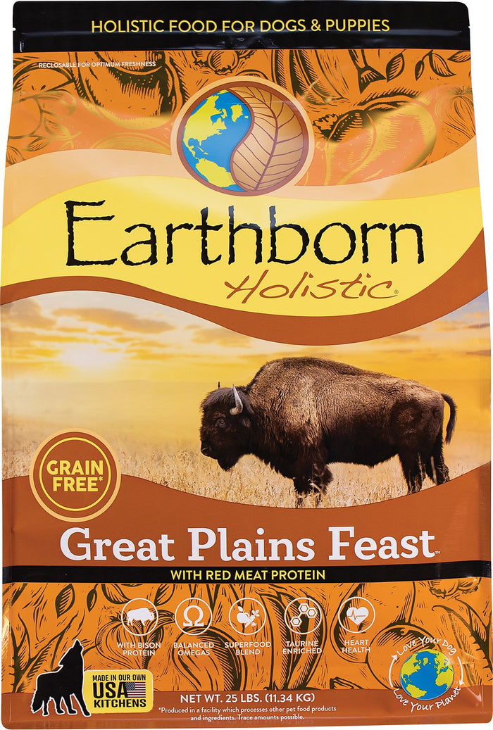 Earthborn Great Plains Feast Dry Dog Food