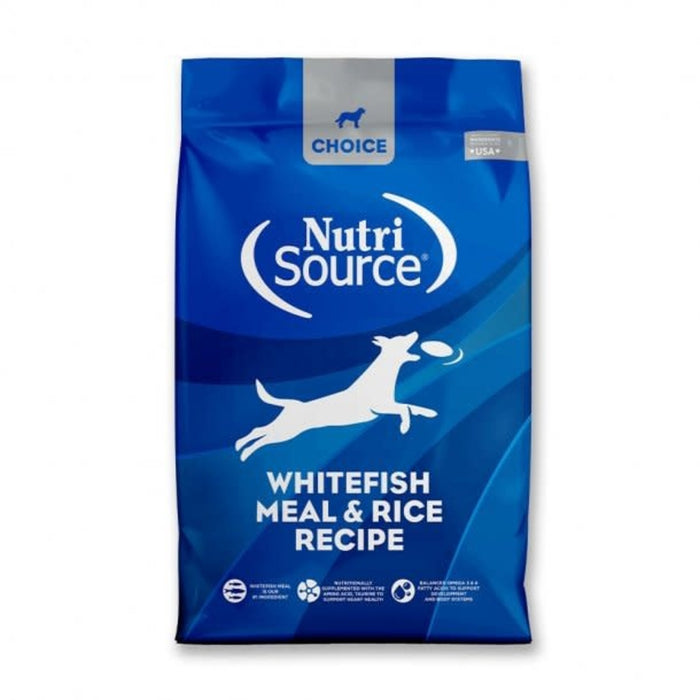 Nutrisource Choice Whitefish Meal and Rice Food for Dogs