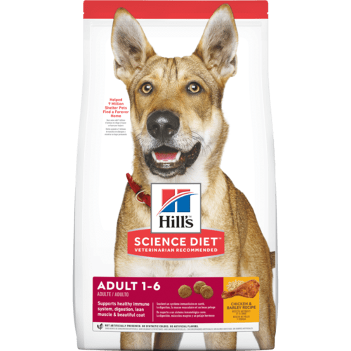 Hill's Science Diet Adult Chicken & Barley Recipe Dry Dog Food