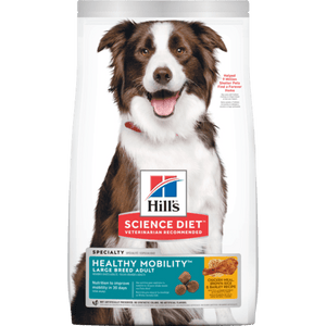 Hill's Science Diet Adult Healthy Mobility Large Breed Chicken Meal, Brown Rice & Barley Recipe Dry Dog Food