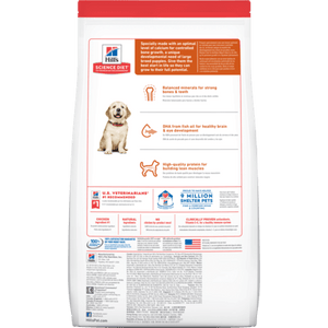Hill's Science Diet Puppy Large Breed Chicken Meal & Oats Recipe Dry Dog Food
