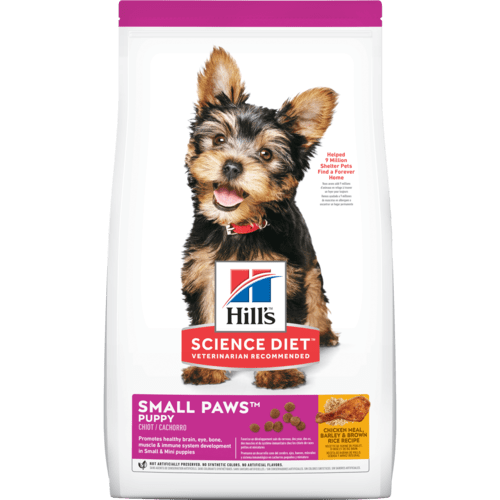 Hill's Science Diet Puppy Small Paws Chicken Meal, Barley & Brown Rice Recipe Dry Dog Food