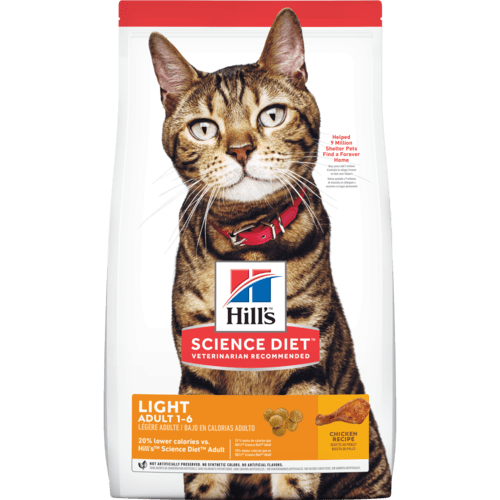 Hill's Science Diet Adult Light Chicken Recipe Dry Cat Food