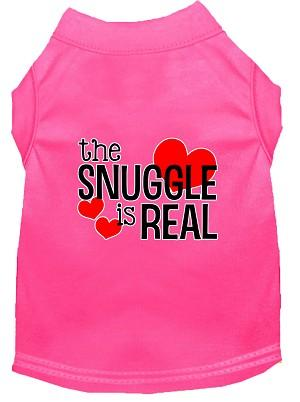 The Snuggle is Real Screen Print Shirt