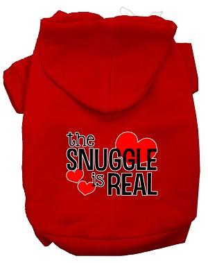 The Snuggle is Real Screen Print Hoodie