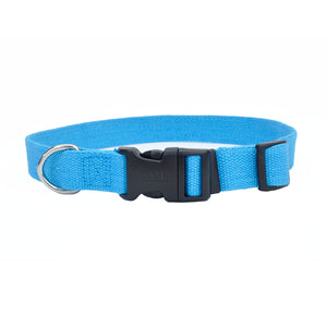 Coastal New Earth Soy Adjustable Medium Dog Collar, Assorted Colors