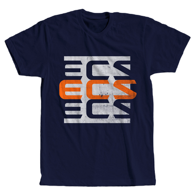 ECS 3Up Tee - Navy - ECS Official EU Store