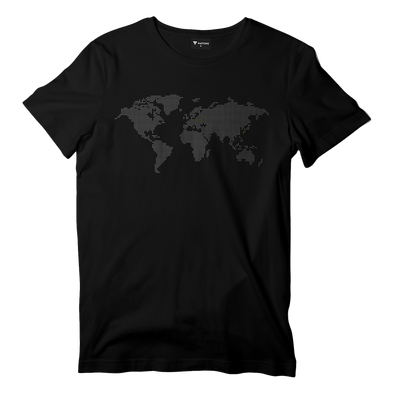Pixel Map Tee - We Are Nations