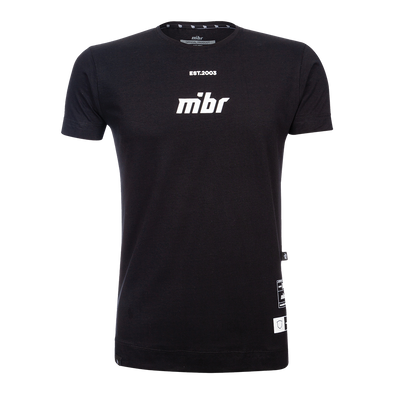 MiBR Wall T-shirt - Black