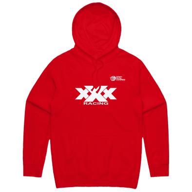Echelon x Triple X Racing - Bold Hoodie - Red