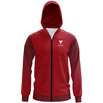 Nations Pro Hoodie - Red - We Are Nations