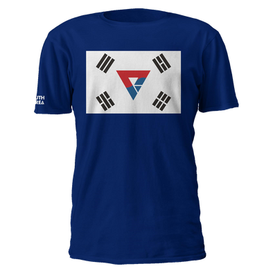 South Korea Logo Flag Tee - We Are Nations