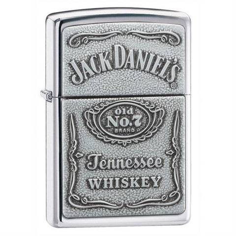 Zippo Jack Daniels Emblem Lighter Free Engraving - GiftsEngraved